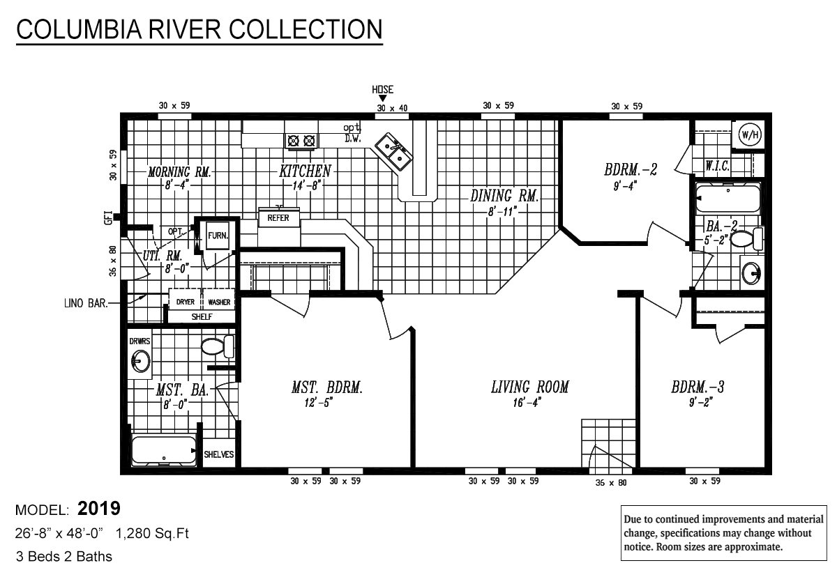 Columbia River Collection / 2019 By Marlette Homes