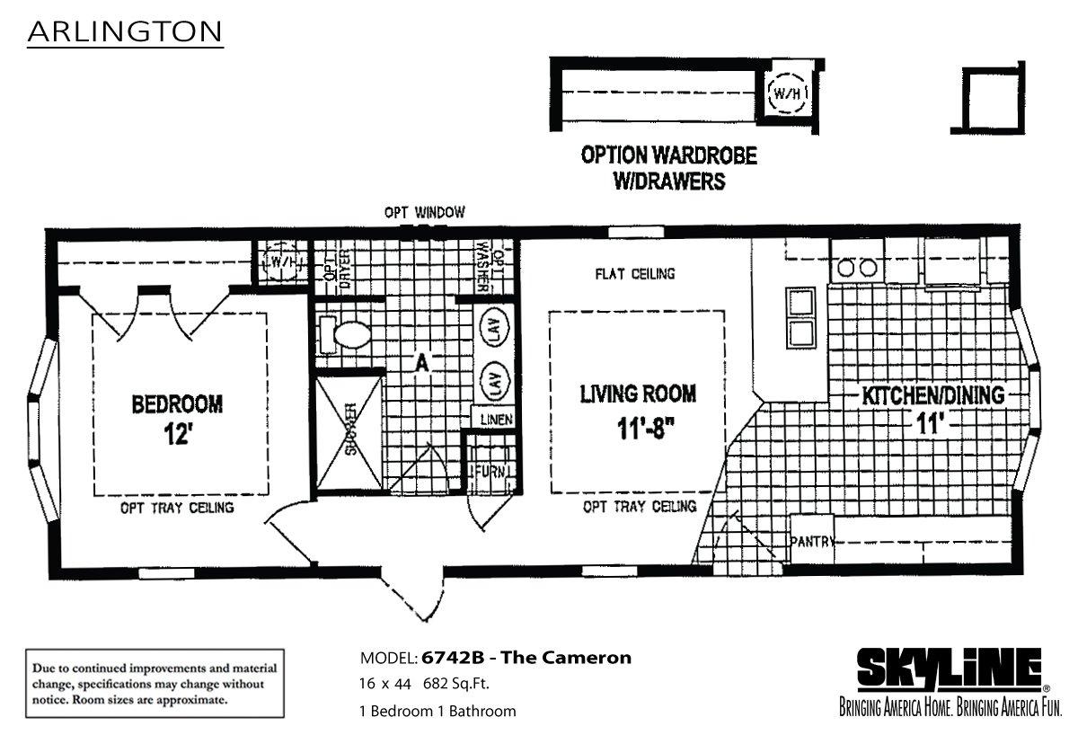Arlington B The Cameron By Skyline Homes
