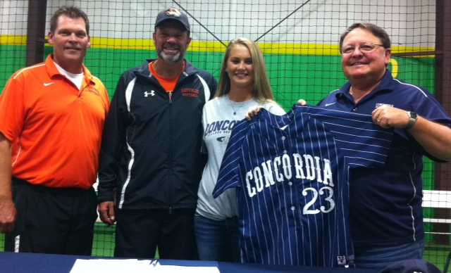 Snider Signs To Play Softball At Concordia