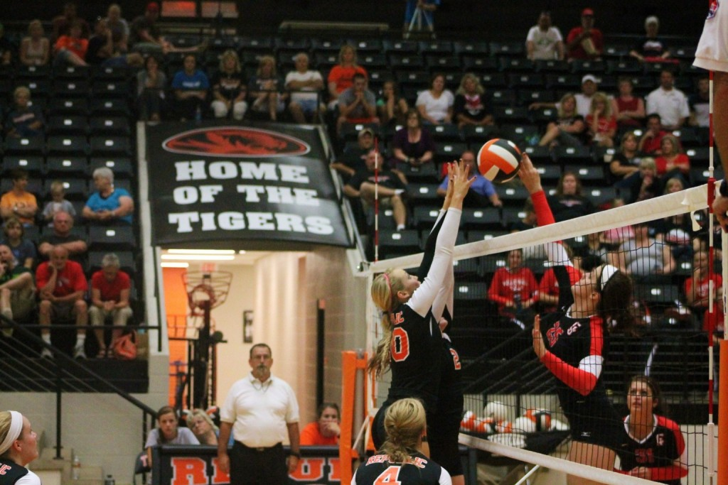 Lady Tigers Open Season With Volleyball Sweep