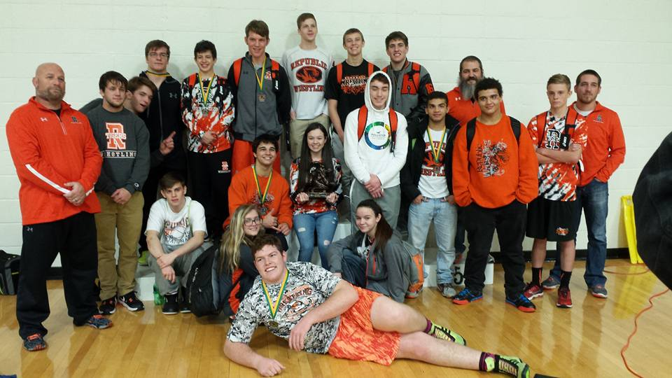 Republic Wrestlers Step Up At Kinloch Classic