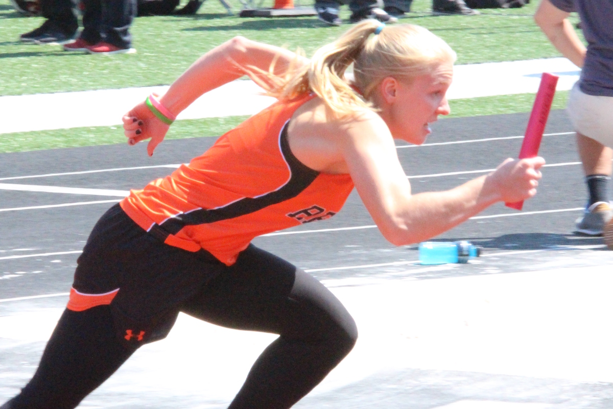 Relay Champs Lead Tiger Field Into Sectionals