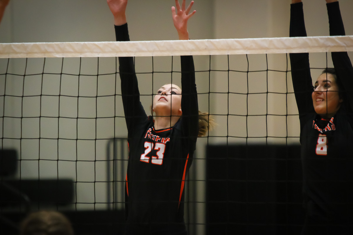 Ozark Overpowers Republic In Straight Sets