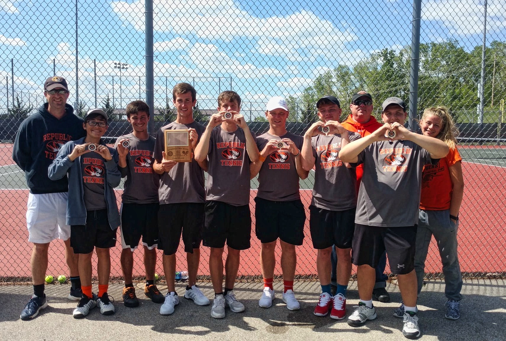 Tennis Tigers Take Another Title