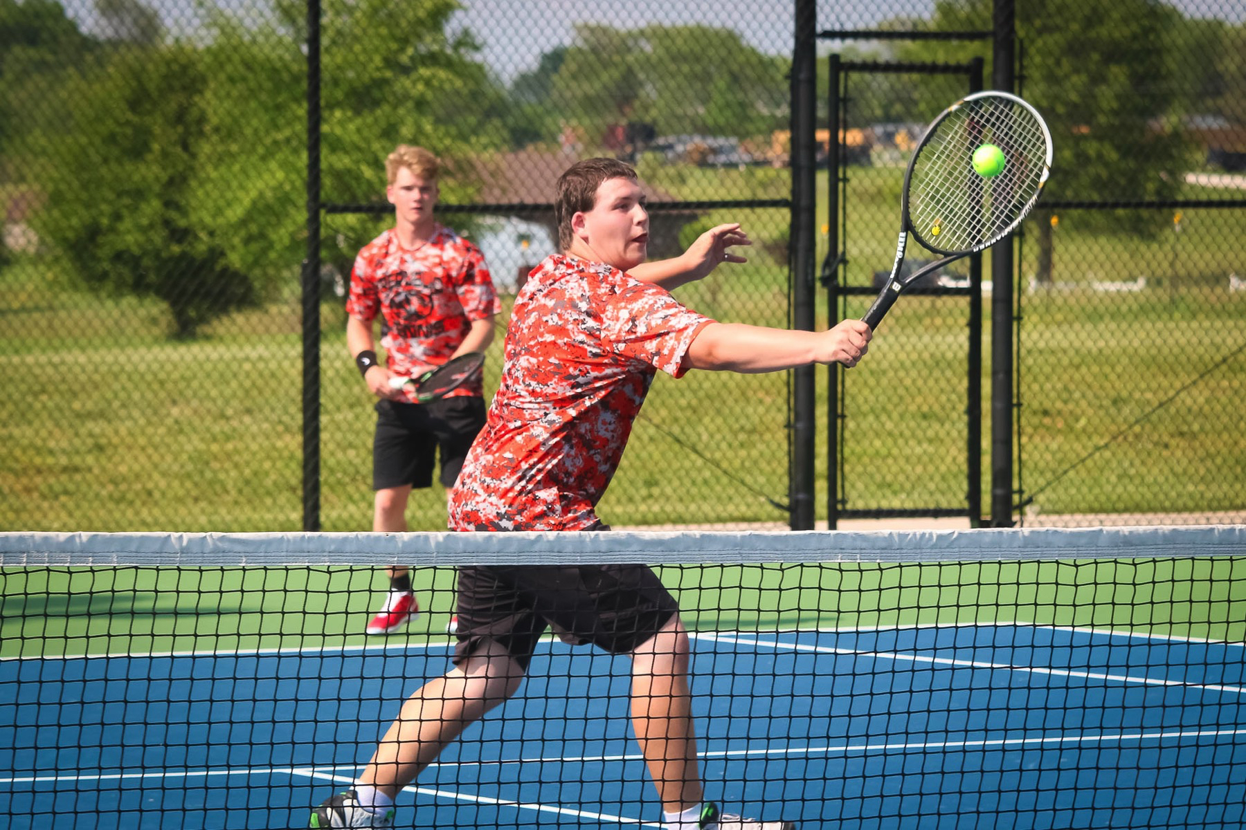 Tennis Tigers Sweep Into District Final