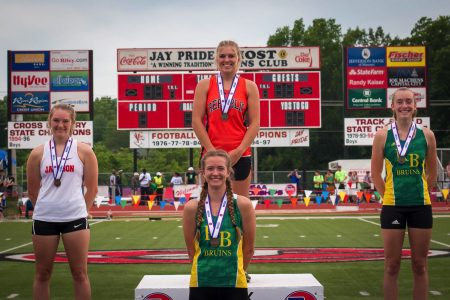 Photos:  State Track