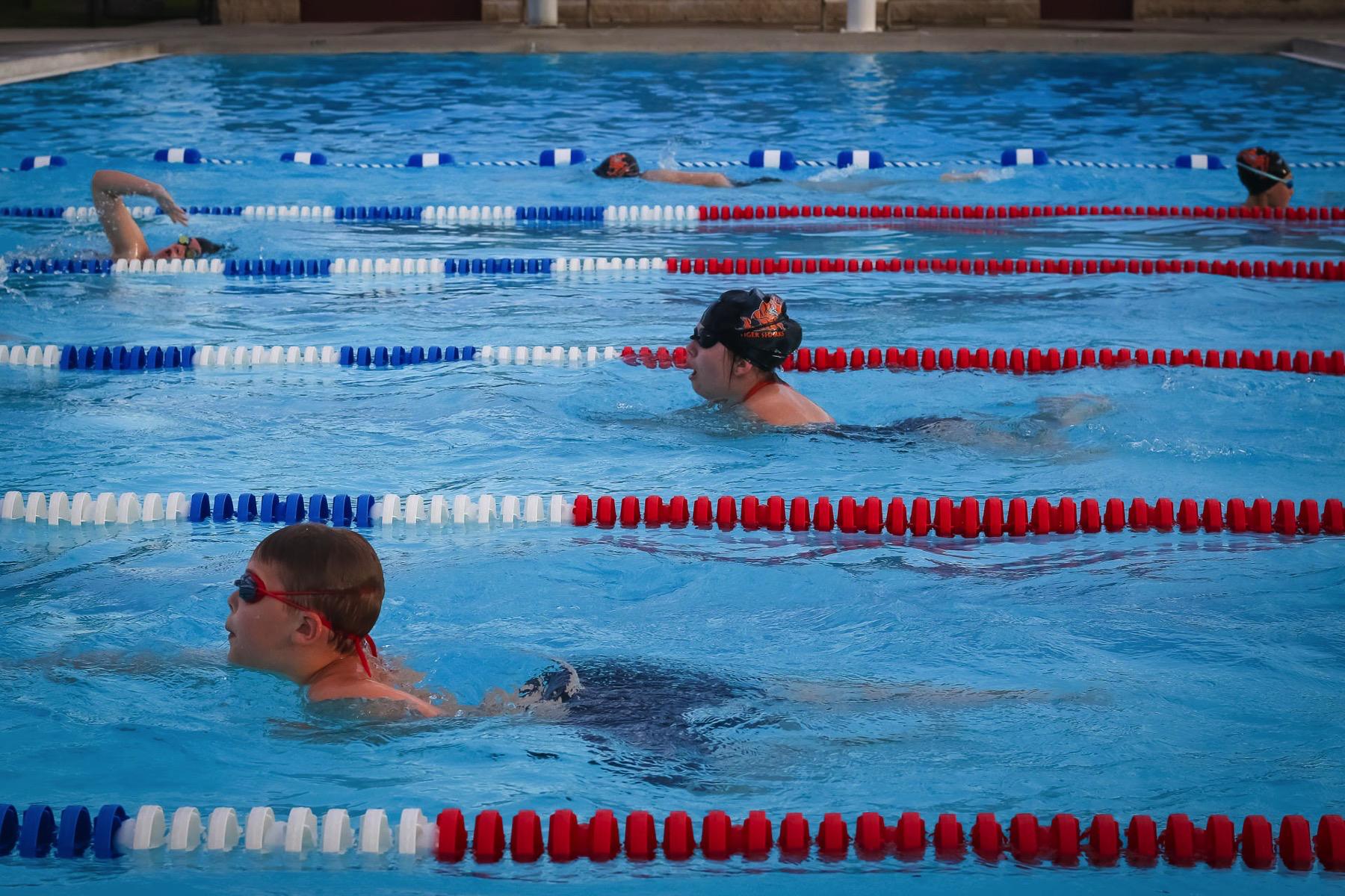 Shark Alert: Republic Swim Team Builds Young Foundation