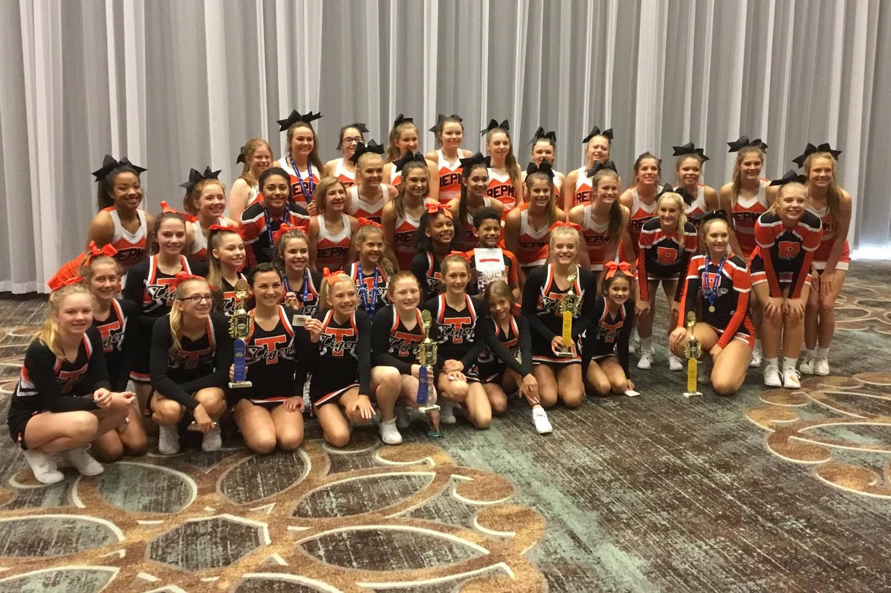 Cheer Squad Aims High For 2017-18