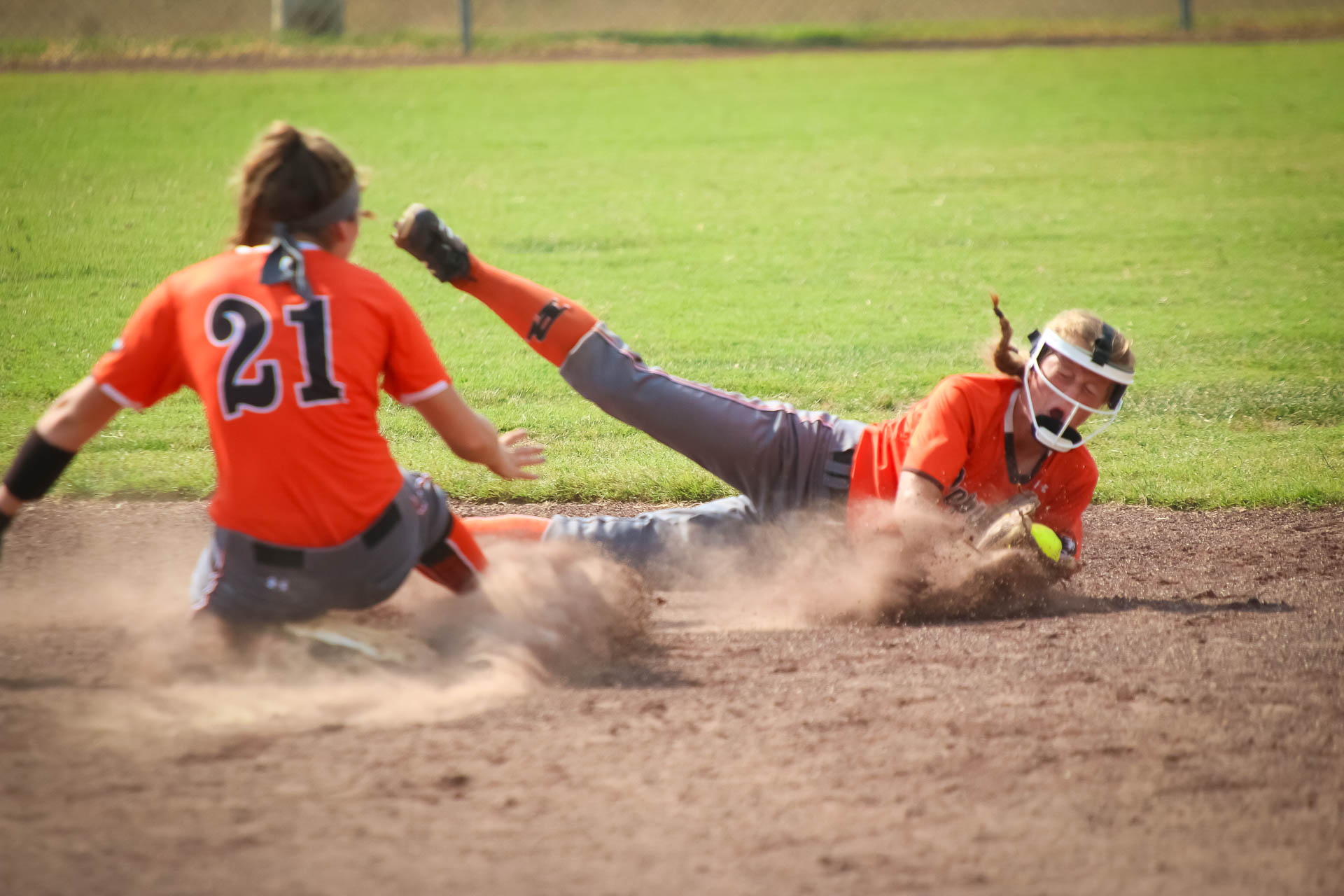 Photos:  Varsity Softball Vs East Newton