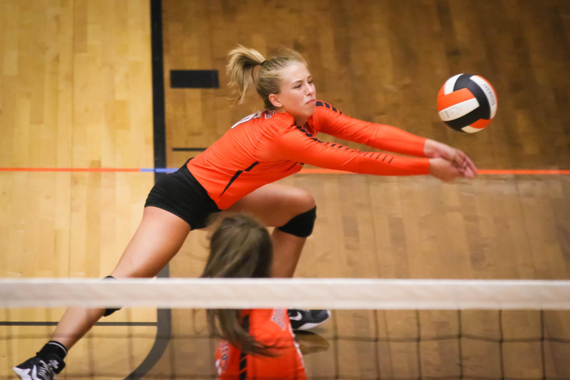 Photos:  Varsity Volleyball vs Webb City
