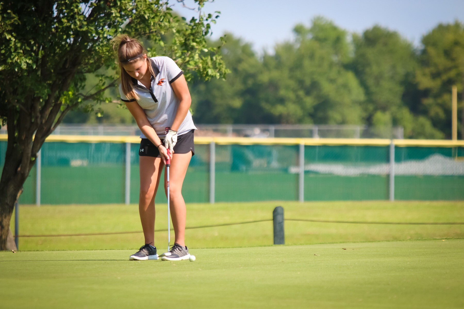 White Nabs All-District Golf Honors