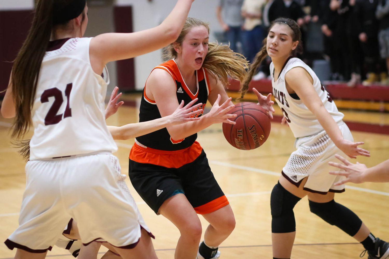 Photos:  Varsity Girls Basketball Vs Rogersville