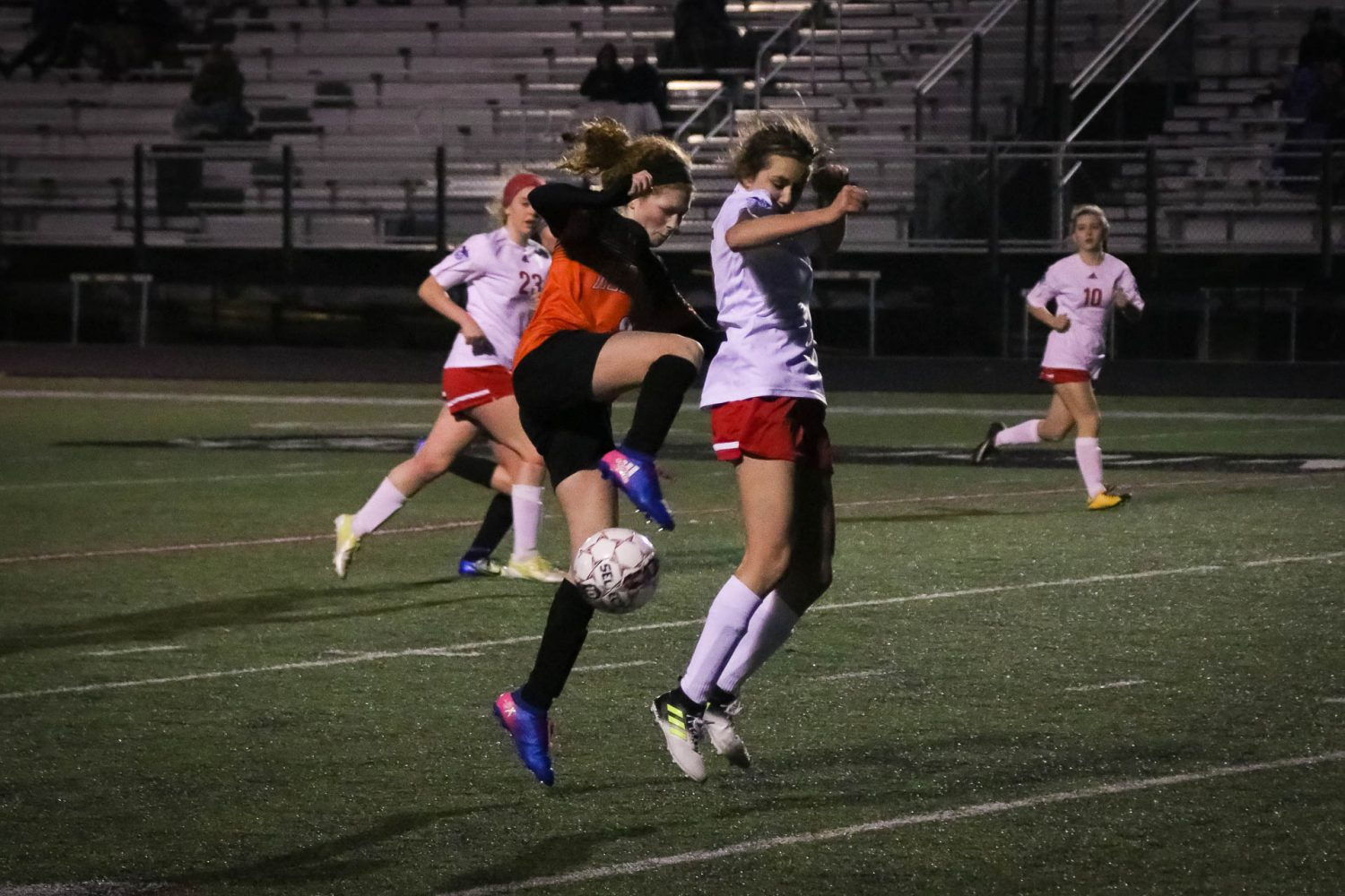 Lady Tigers Can't Catch A Break In Road Loss