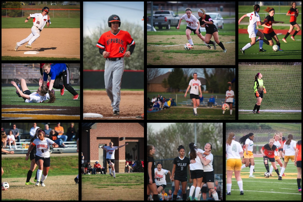 Republic Spring Athletes Earn Post-Season Honors