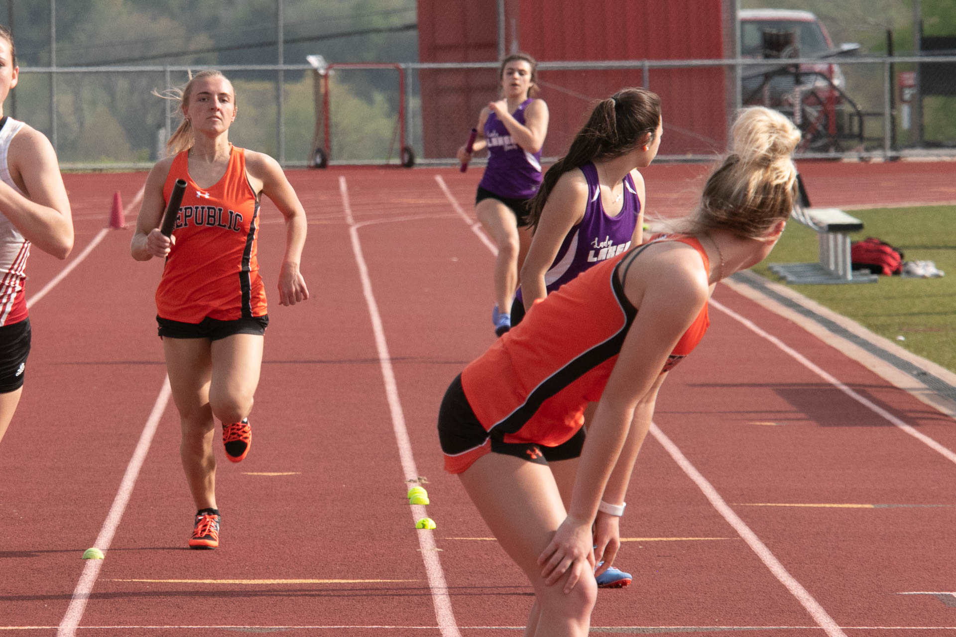 Girls Relays Highlight Big Day For Repmo Track