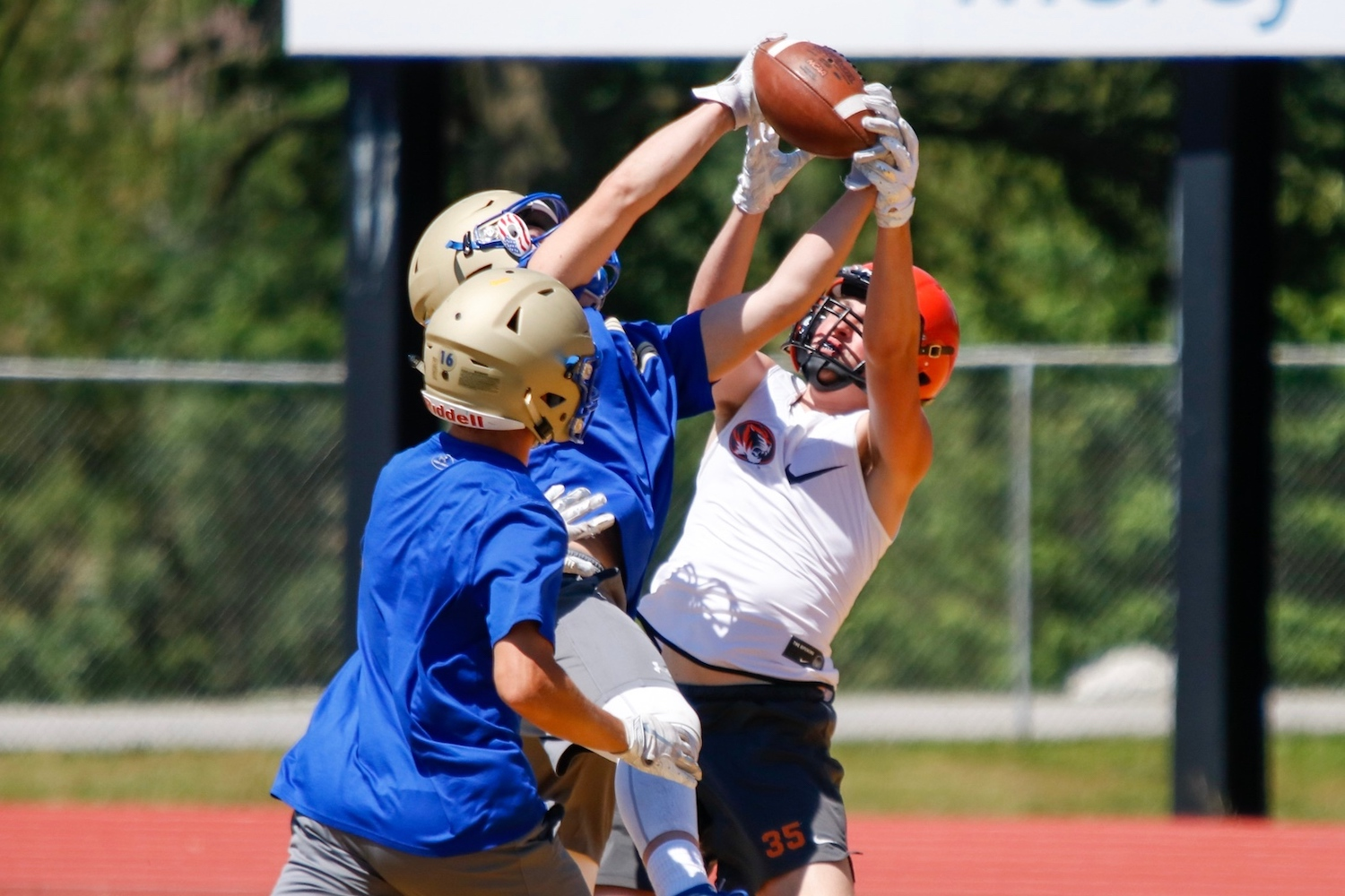 Photos:  7-on-7 Football At Parkview