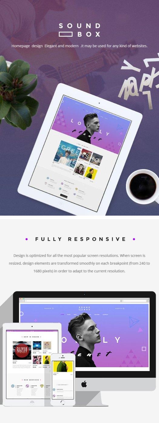 SoundBox   Easy Digital Download Responsive WordPress Theme