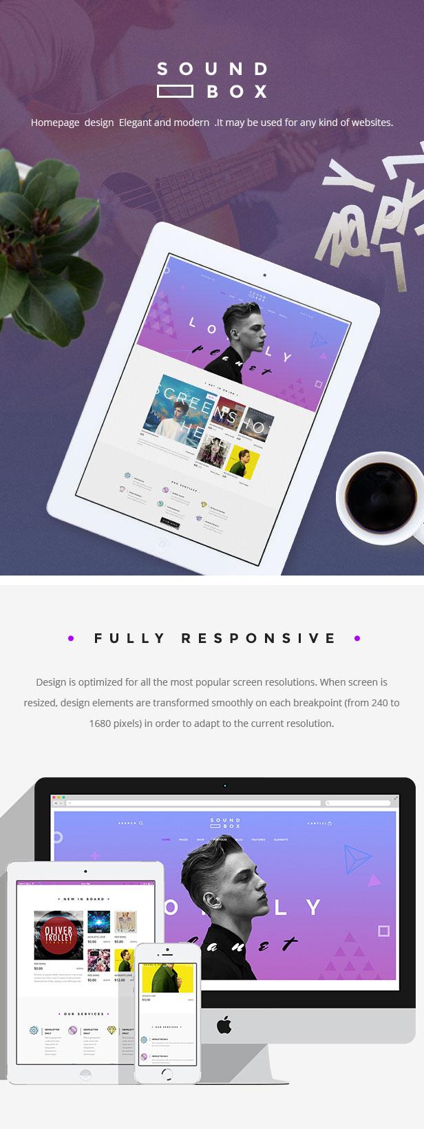 SoundBox | Easy Digital Download Responsive WordPress Theme