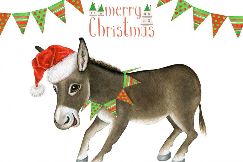 dominick the donkey christmas cartoon