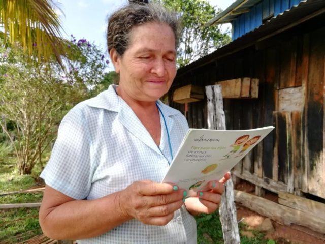 Productores de café reciben apoyo para mitigar el coronavirus