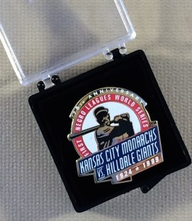 Negro Leagues World Series Pin