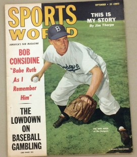 Sports World Magazine Sept 1949 Issue