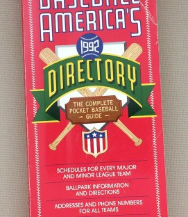 Baseball America's Baseball Directory 1992