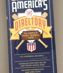 Baseball America's Baseball Directory 1997