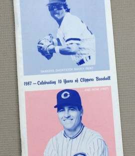 Columbus Clippers 1984 Media Guide