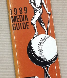 Rochester Red Wings 1989 Media Guide