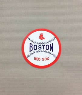 1940s Vintage Boston Red Sox Decal