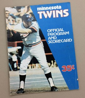 1973 Minnesota Twins Program