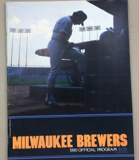 Milwaukee Brewers 1990 Program