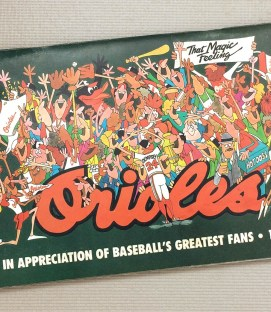 Baltimore Orioles 1983 Media guide