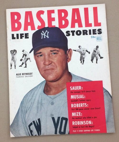 1953 Baseball Life Stories Magazine