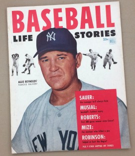 1953 Baseball Life Stories Magazine