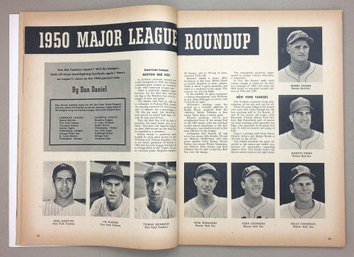 1950 Major League Roundup