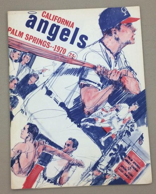 California Angels 1970 Spring Training Program