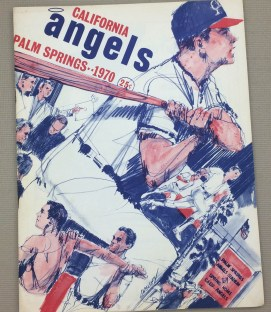 California Angels 1970 Spring Training Program