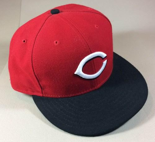 New Era authentic Cincinnati Reds cap