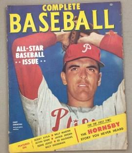Complete Baseball September 1953 Issue