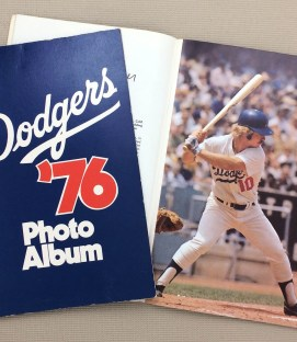 Los Angeles Dodgers 1976 Photo Album