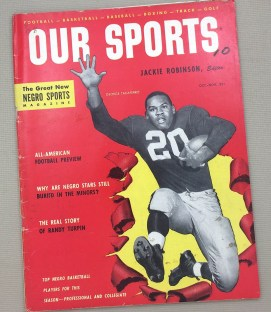 "Jackie Robinson's ""Our Sports"" Magazine Oct-Nov 1953"