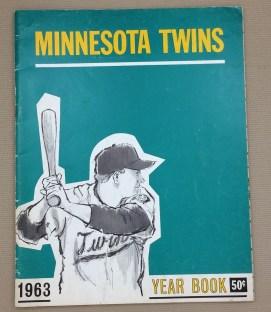Minnesota Twins 1963 Yearbook