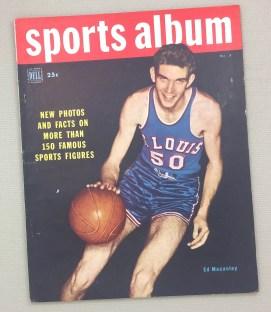 Dell Sports Album Magazine Winter 1949