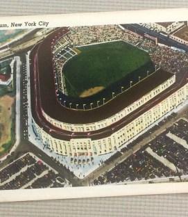 Vintage Yankee Stadium Postcard