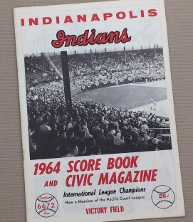 Indianapolis Indians 1964 Program