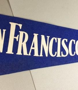 San Francisco Seals PCL Felt Pennant