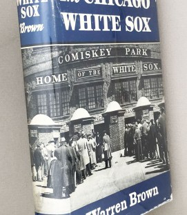 Chicago Whitesox Warren Brown 1952