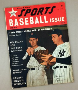 1950 STREET & SMITH'S ALL SPORTS BASEBALL ISSUE Magazine